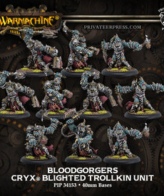 Privateer Press - PIP Warmachine - Cryx - Bloodgorgers - Blighted Trollkin Unit