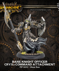 Privateer Press - PIP Warmachine - Cryx - Bane Knight Officer - Command Attachment