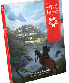 Fantasy Flight Games - FFG Legend of the Five Rings: Roleplaying - Emerald Empire: The Essential Guilde to Rokugan