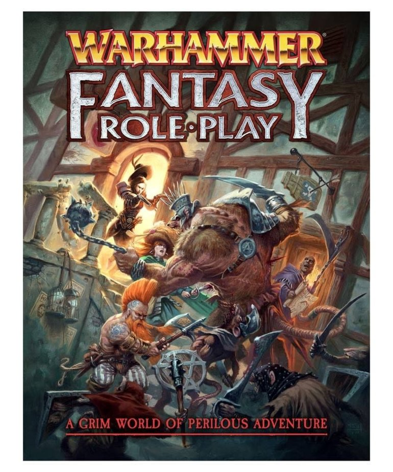 Cubicle 7 - CB7 Warhammer Fantasy Roleplay 4E - Rulebook