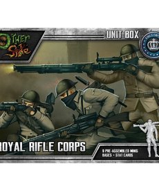 Wyrd Miniatures - WYR CLEARANCE The Other Side - Kings Empire: Royal Rifle Corps - Unit