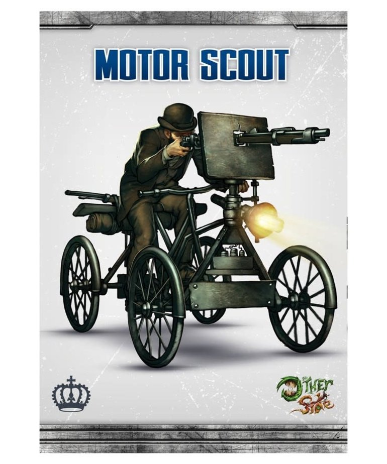 Wyrd Miniatures - WYR CLEARANCE The Other Side - King's Empire: Motor Scout - Unit