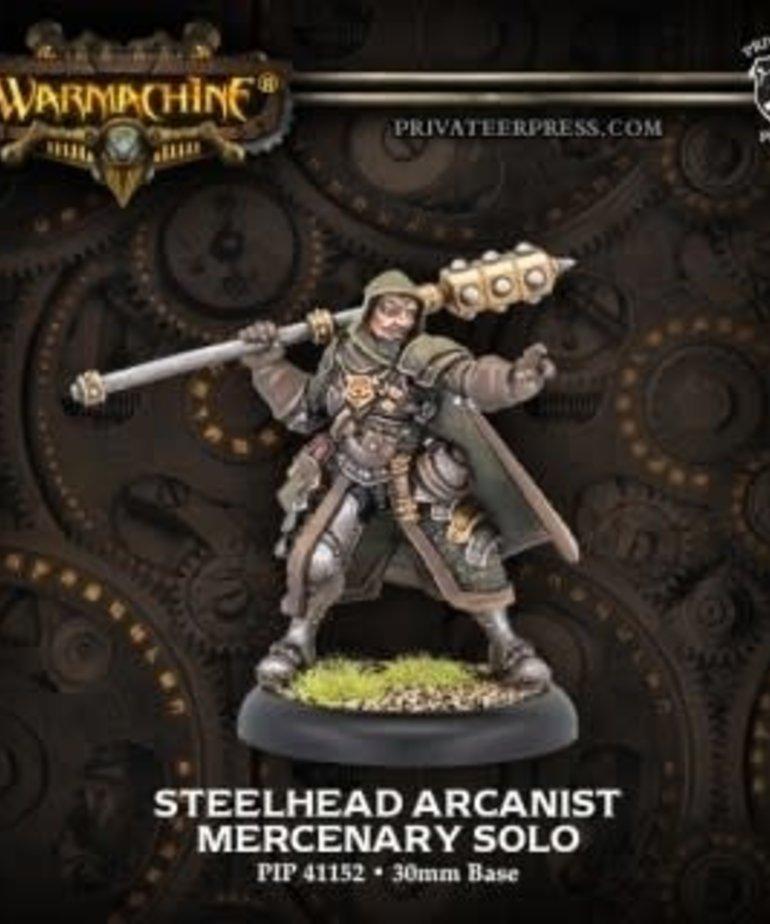 Privateer Press - PIP Warmachine - Mercenaries - Steelhead Arcanist - Solo