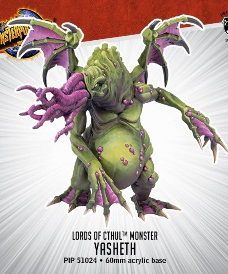 Privateer Press - PIP Monsterpocalypse - Lords of Cthul - Yasheth - Monster