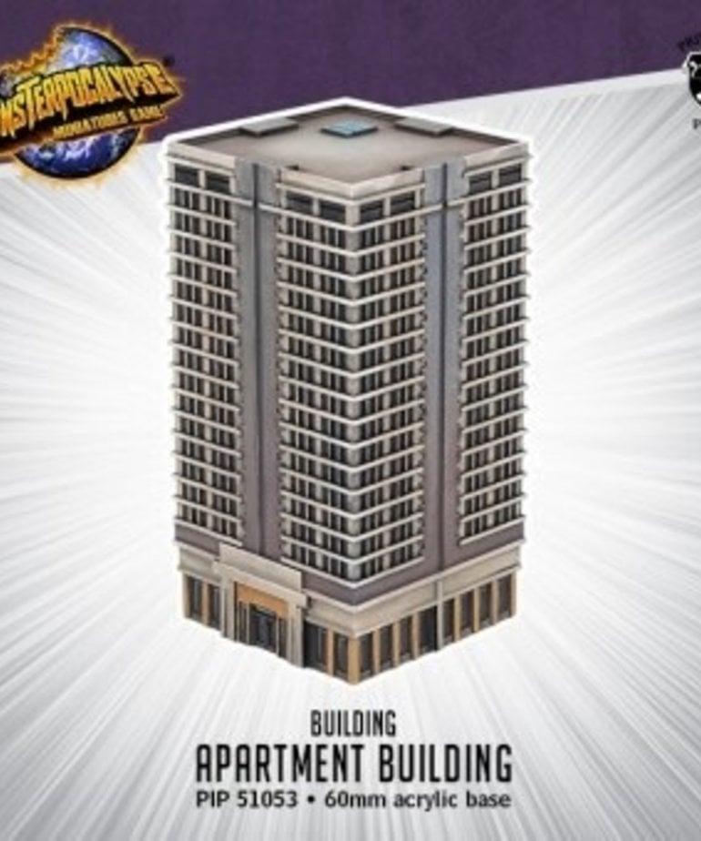 Privateer Press - PIP Monsterpocalypse - Buildings - Apartment Building