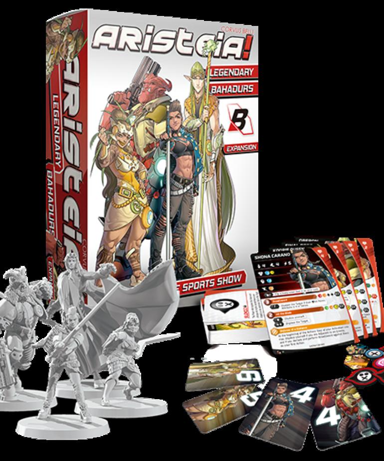 Corvus Belli - CVB Aristeia!: The Ultimate Sports Show - Legendary Bahadurs - Expansion