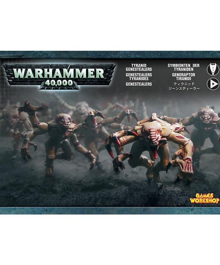 Games Workshop - GAW Warhammer 40K - Tyranids - Genestealers