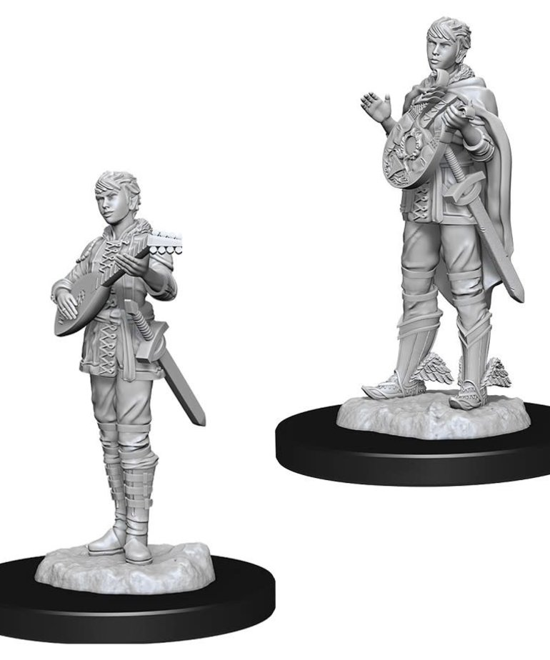 WizKids - WZK D&D - Nolzur's Marvelous Miniatures: Female Half-Elf Bard