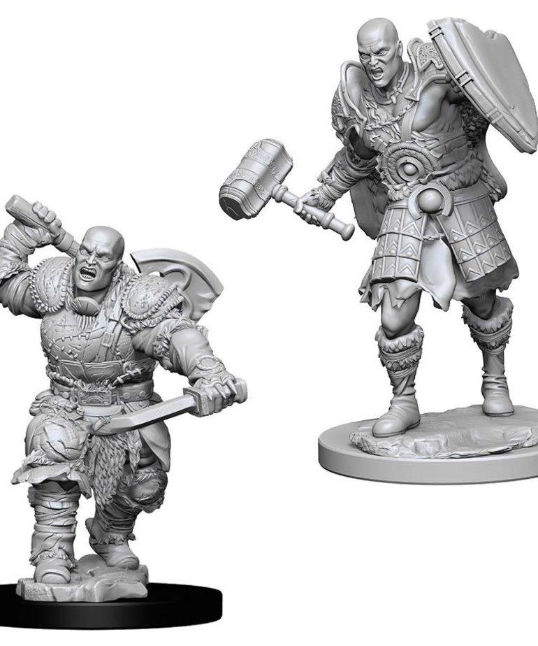 WizKids - WZK D&D - Nolzur's Marvelous Miniatures: Male Goliath Fighter