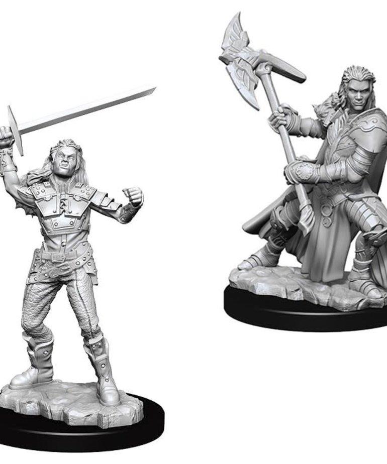 WizKids - WZK D&D - Nolzur's Marvelous Miniatures - Female Half-Orc Fighter