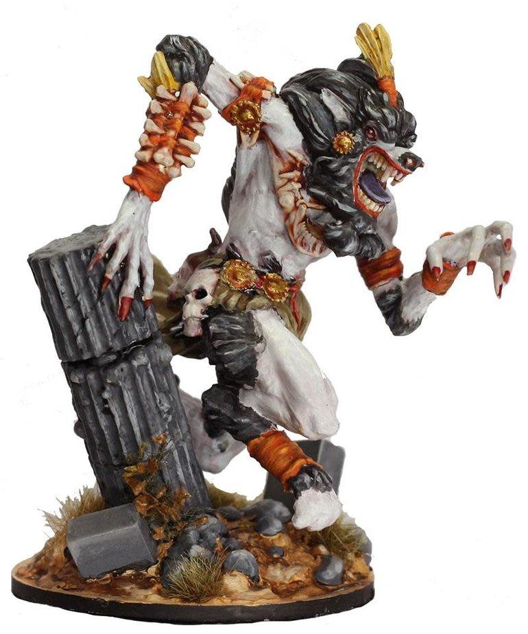 Gunmeister Games - GRG Judgement - Monsters - Ashtooth: Werewolf