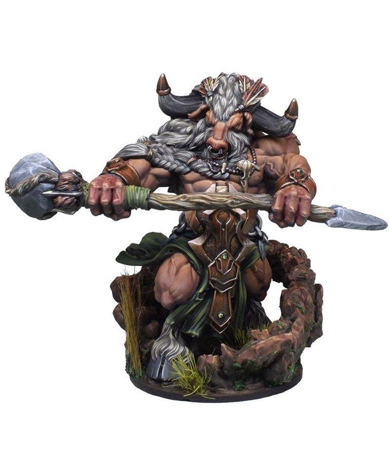 Gunmeister Games - GRG Judgement - Minotaurs - Doenrakkar: Minotaur Shaman - Defender BLACK FRIDAY NOW