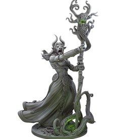 Gunmeister Games - GRG Judgement - Minotaurs - Gendris: Minotaur Druid - Supporter