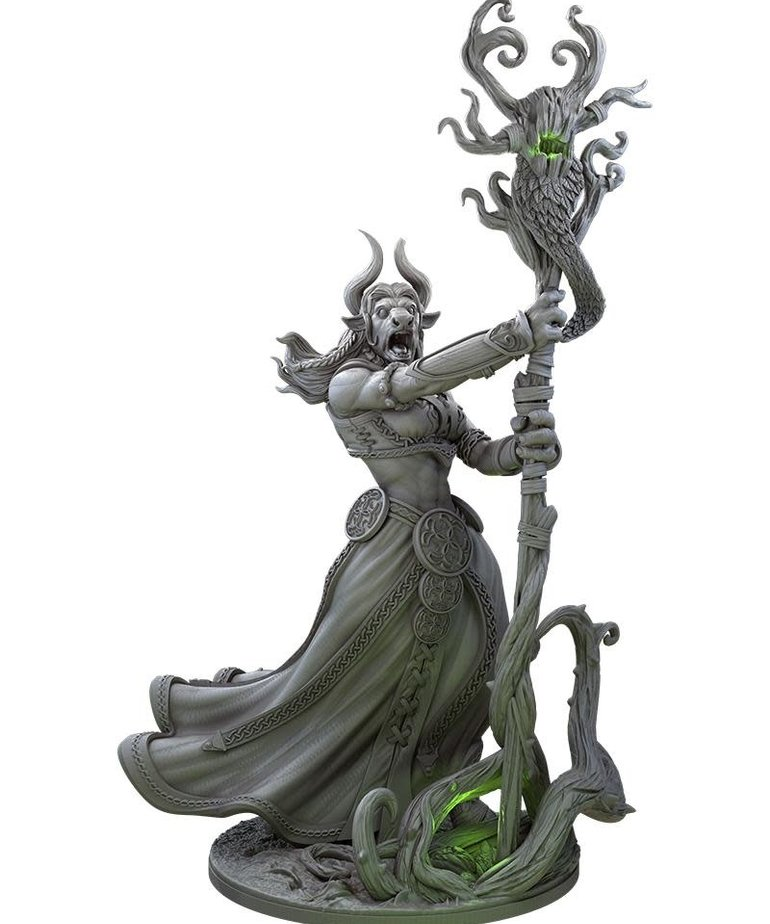 Gunmeister Games - GRG Judgement - Minotaurs - Gendris: Minotaur Druid - Supporter BLACK FRIDAY NOW