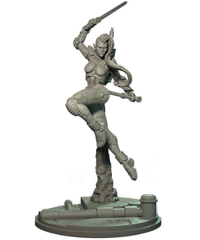 Gunmeister Games - GRG Judgement - Elves - Nephenee: Elf Warrior - Aggressor