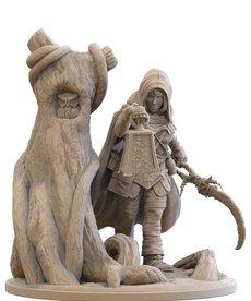 Gunmeister Games - GRG Judgement - Dwarfs - Svetlana Oaklost: Dwarf Druid - Soulgazer