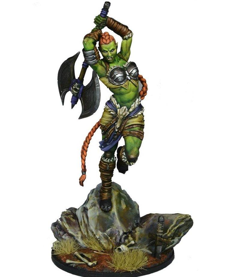 Gunmeister Games - GRG Judgement - Orcs - Zhonyja: Orc Warrior - Aggressor