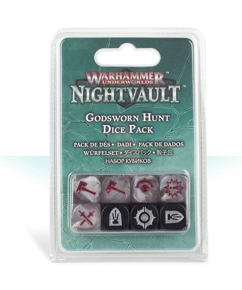 Games Workshop - GAW Warhammer Underworlds: Nightvault - Godsworn Hunt Dice Pack