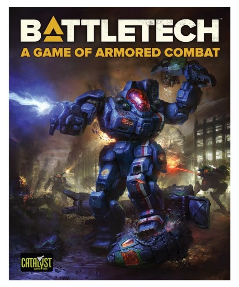 Catalyst Game Labs - CYT Battletech: A Game of Armored Combat