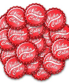 Modiphius Entertainment - MUH CLEARANCE Fallout: Wasteland Warfare - Nuka Cola Caps Set