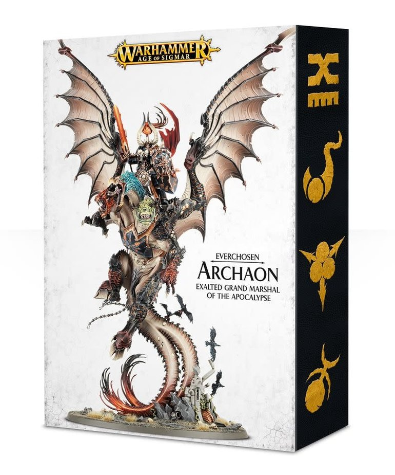 Games Workshop - GAW Warhammer Age of Sigmar - Everchosen - Archaon, Exalted Grand Marshal of the Apocalypse