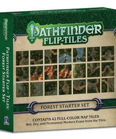 Paizo, Inc. - PZO Pathfinder: Flip-Tiles - Forest Starter Set