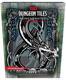 Wizards of the Coast - WOC D&D 5E - Dungeon Tiles: Reincarnated - City