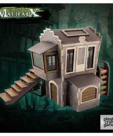 Wyrd Miniatures - WYR Plast Craft: ColorED - Downtown Building