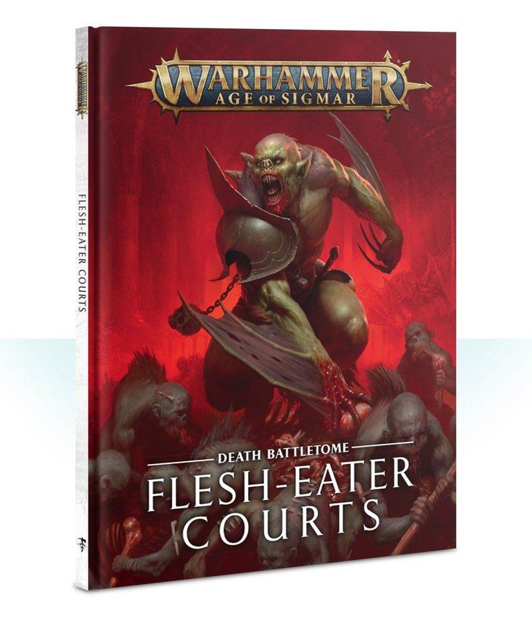 Games Workshop - GAW Warhammer Age of Sigmar - Death Battletome: Flesh-Eater Courts