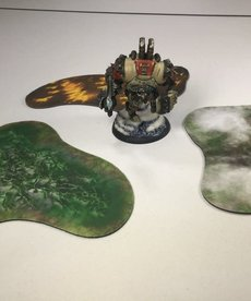 Muse On Minis - MOM Muse on Minis: Terrain - Warmachine/Hordes - MkIII Hazards: 2D Smoke, Fire, and Acid