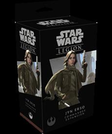Fantasy Flight Games - FFG Star Wars: Legion - Rebel - Jyn Erso: Commander Expansion