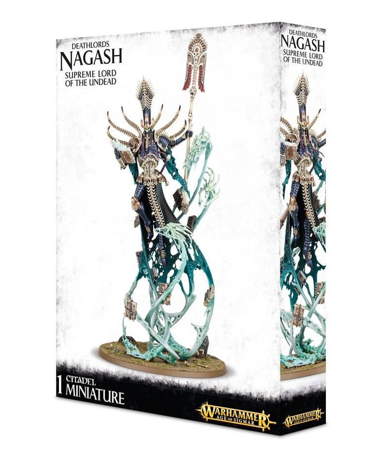 Games Workshop - GAW Warhammer Age of Sigmar - Deathlords - Nagash, Supreme Lord of the Undead