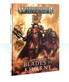 Games Workshop - GAW Warhammer Age of Sigmar - Chaos Battletome: Blades of Khorne