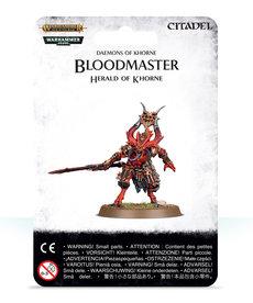 Games Workshop - GAW Warhammer Age of Sigmar - Daemons of Khorne - Bloodmaster, Herald of Khorne