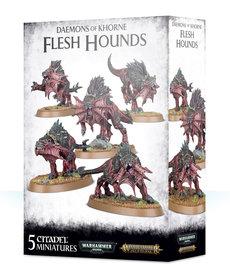 Games Workshop - GAW Warhammer Age of Sigmar - Daemons of Khorne - Flesh Hounds