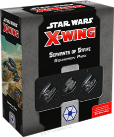 Atomic Mass Games - AMG Star Wars: X-Wing 2E - Separatist Alliance - Servants of Strife