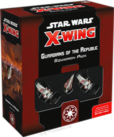 Fantasy Flight Games - FFG Star Wars: X-Wing - Galactic Republic - Guardians of the Republic - Squadron Pack