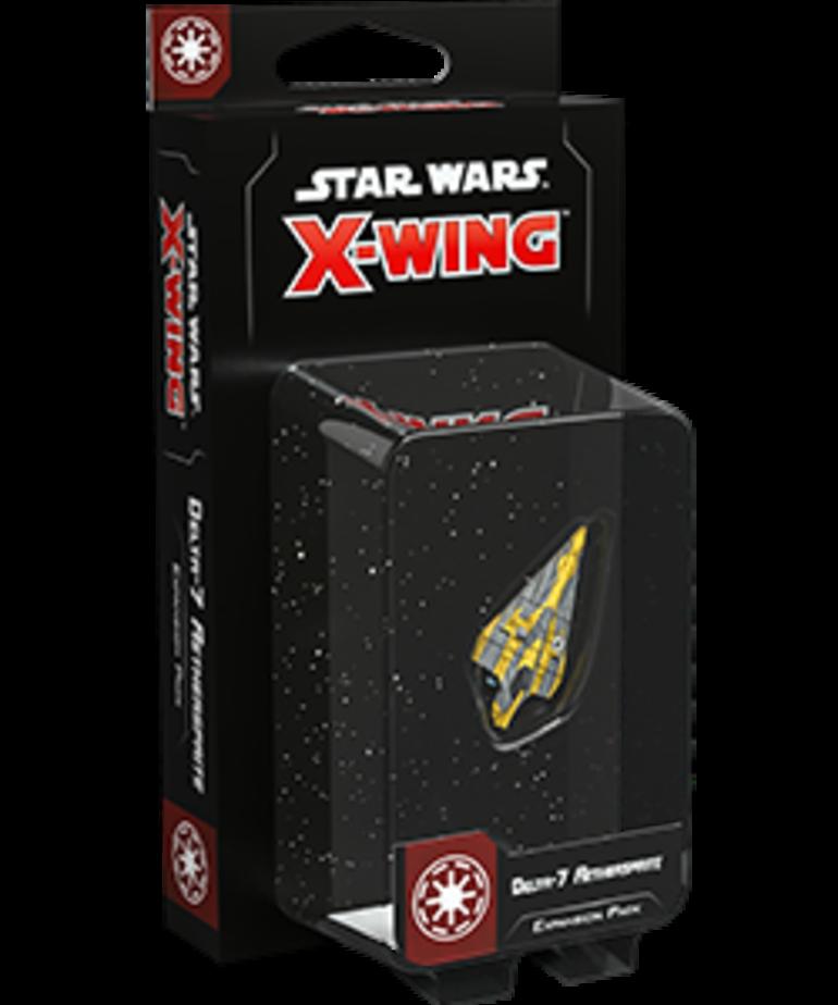 Fantasy Flight Games - FFG Star Wars: X-Wing - Galactic Republic - Delta-7 Aethersprite - Expansion Pack
