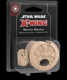 Fantasy Flight Games - FFG Star Wars: X-Wing - Galactic Republic - Maneuver Dial Upgrade Kit