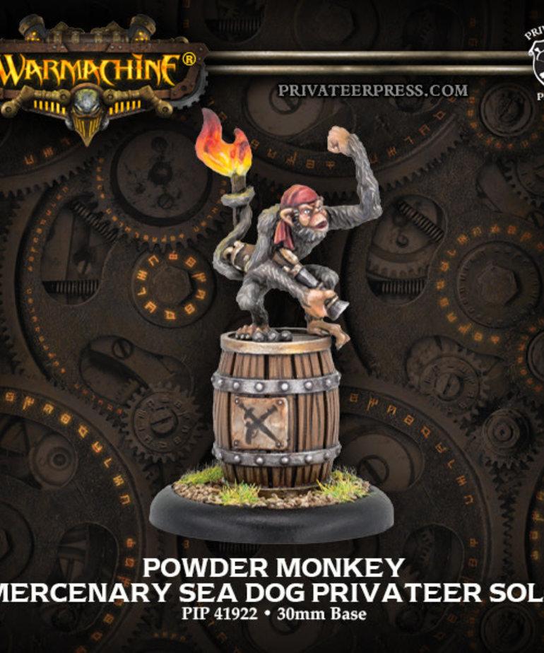 Privateer Press - PIP Warmachine - Mercenaries - Powder Monkey - Sea Dog Privateer Solo