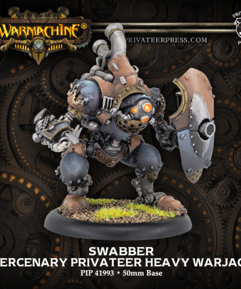 Privateer Press - PIP Warmachine - Mercenaries - Swabber - Privateer Heavy Warjack