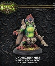 Privateer Press - PIP Hordes - Minions - Underchief Mire - Croak Solo