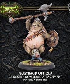 Privateer Press - PIP Hordes - Grymkin - Piggyback Officer - Command Attachment