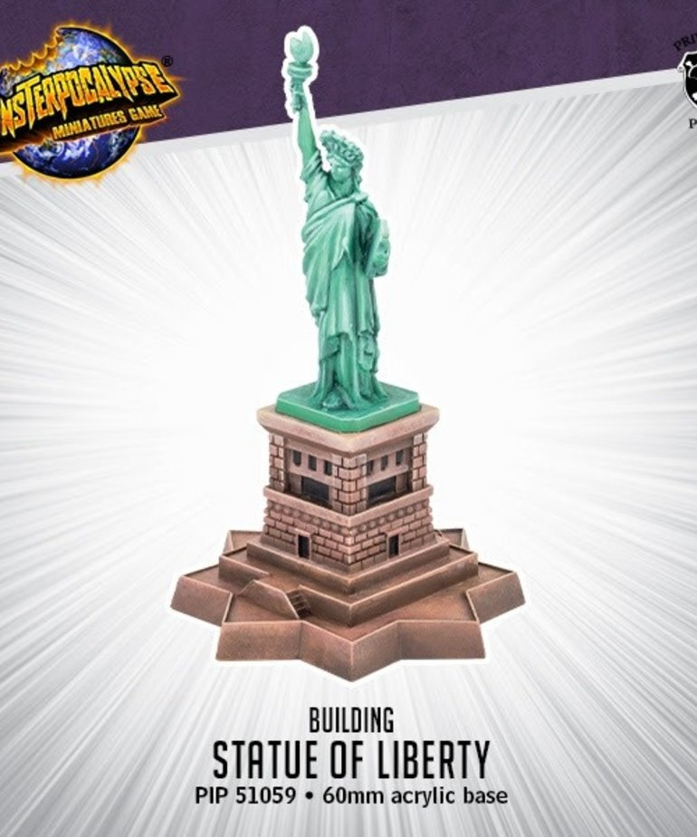 Privateer Press - PIP Monsterpocalypse - Buildings - Statue of Liberty