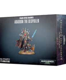 Games Workshop - GAW Warhammer 40K - Chaos Space Marines - Abaddon the Despoiler