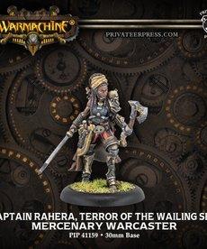 Privateer Press - PIP Warmachine - Mercenaries - Captain Rahera, Terror of the Wailing Sea - Warcaster (Rahera 1)