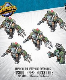 Privateer Press - PIP Monsterpocalypse - Empire of the Apes - Assault Apes & Rocket Ape - Unit Expansion 2