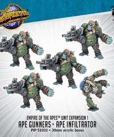 Privateer Press - PIP Monsterpocalypse - Empire of the Apes - Ape Gunners & Ape Infiltrator - Unit Expansion 1