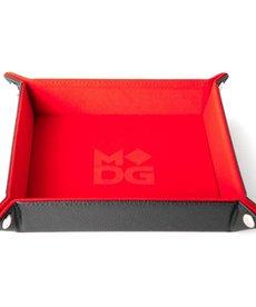 Metallic Dice Games - LIC Folding 10x10 - Velvet - Rainbow
