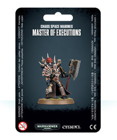 Games Workshop - GAW Chaos Space Marines - Master of Executions